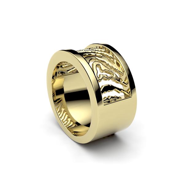 gouden-ring-met-vingerafdruk